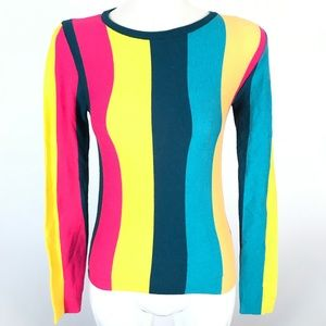 Forever 21 Colorblock long sleeve top